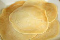 Pancakes with the texture similar to German Pancakes?  Must try...