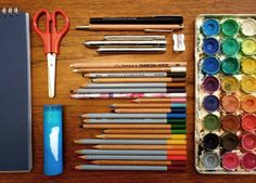 Art Supplies for Traveling