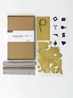 Clothes repair kit from Humade  - the developers of the Kintsugi ceramic repair kit.     I'm wishlisting this and hoping that I may stumble across it next time I visit the Netherlands.