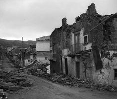 Gibellina, resti del terremoto del 1968