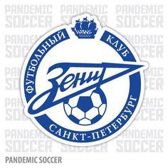 Zenit St Petersburg Russia Vinyl Sticker Decal