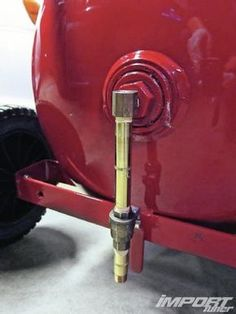 11 home air compressor modification ball valve