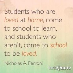 Saw this quote by teacher and speaker, Nicholas A. Ferroni (@NicholasFerroni on Twitter) and thought it was very important to share this quote with all our educator followers- - click on pin for more!    - Like our instagram posts?  Please follow us there at instagram.com/pediastaff