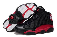 343713f6714 Now Buy Nike Air Jordan 13 Mens Grain Leather Black Red Shoes New Save Up  From Outlet Store at Footlocker.
