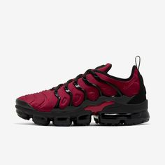 Black Nike Shoes, Nike Air Shoes, Nike Air Vapormax, Air Max Sneakers, Nike Boots, Red Sneakers, Classic Sneakers, Nike Sneakers, Mens Nike Air