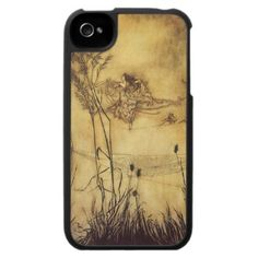 Fairy's Tightrope by Arthur Rackham, Iphone Case