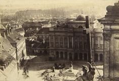 Warsaw, Poland, 19 c. by Karol Beyer Old Photographs, Old Photos, Poland History, Central Europe, Krakow, Old City, Beautiful Places To Visit, Beautiful Buildings, Great Pictures