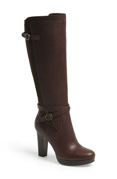 UGG® Australia 'Linde' Leather & Suede Knee High Boot