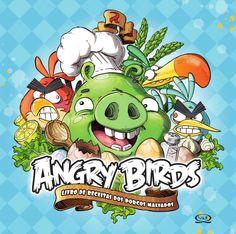 """Angry Birds - Livro de Receitas dos Porcos Malvados  Com certeza, você já se divertiu com o joguinho mais animado do momento. Sim, estamos falando do fantástico Angry Birds. Em Livro de receitas dos porcos malvados, os arqui-inimigos dos passarinhos, os porcos, resolveram usar os ovos na preparação de receitas saborosas e divertidas, que eles mesmos desenvolveram.Agora essa guerra divertida """"chegou na cozinha""""!"""