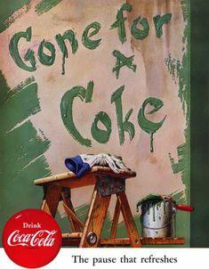 Vintage Coke/ Coca-Cola Advertisements of the (Page Coke Ad, Coca Cola Ad, Always Coca Cola, World Of Coca Cola, Pepsi, Vintage Advertisements, Vintage Ads, Vintage Posters, Retro Ads
