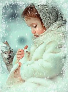 Immagini gif - My sweet dreams Beautiful Gif, Beautiful Fairies, Winter Pictures, Christmas Pictures, Gifs, Vintage Christmas Images, Winter Love, Cool Animations, Winter Beauty