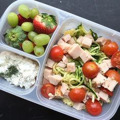 It's called portion control. And I struggle with it. I packed this last night when I was making the kids lunches. I'm back on track...again
