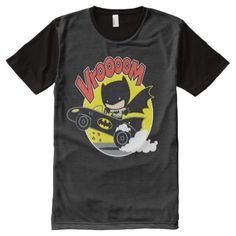Chibi Batman In The Batmobile All-Over-Print T-Shirt - tap, personalize, buy right now!