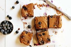 Gluten-Free Chocolate Blueberry Brownies