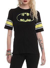 HOTTOPIC.COM - DC Comics Batman Logo Girls T-Shirt