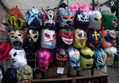 Masken, Camden Lock, London - Foto: S. Hopp