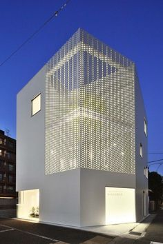 161 Fantastic Minimalist Modern House Designs https://www.futuristarchitecture.com/5596-minimalist-modern-house-designs.html 테라스 부분을 타공판으로..!