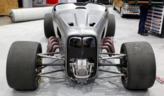 sema 2013 show car 1932 all-wheel drive ford roadster by Fuller Hot Rods for Jet-Hot High Performance Coatings.