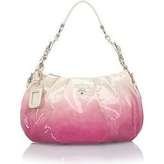 Prada Ombre Patent Leather Small Hobo Handbag | Prada Handbags from Bag Borrow or Steal™