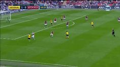 Brilliant strike from Alexis Sanchez to put Arsenal up against Aston Villa in the FA Cup Final. Football Soccer, Football Players, Arsenal Goal, Bristol Rovers, Fa Cup Final, Aston Villa, Gif Of The Day, Real Madrid, How To Memorize Things