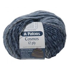 Patons Cosmos-Nitrium Blue