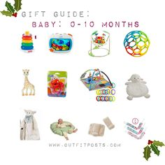 outfit post – gift guide: babies and toddlers (Outfit Posts) Outfit Posts, Gift Guide, Baby Shower Gifts, Babies, Toys, Toddlers, Outfits, Birth, Campaign