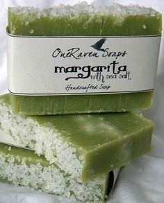 Margarita with Sea Salt - Handmade Soap - OneRaven Soaps