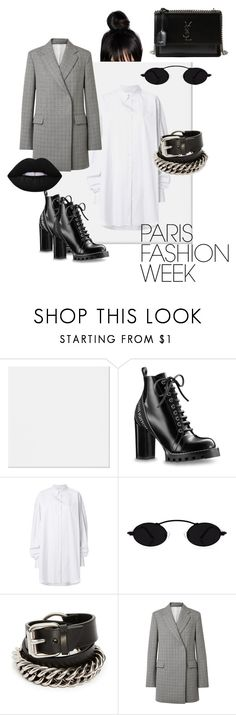 """""""Untitled #120"""" by jeafil on Polyvore featuring Maison Margiela, Alexander Wang, Calvin Klein 205W39NYC, Yves Saint Laurent, parisfashionweek and Packandgo"""