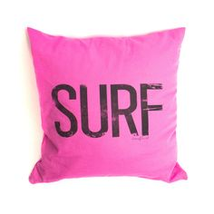 Surf Statement Cushion - Candy