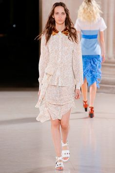 Jonathan Saunders Spring 2015 Ready-to-Wear - Collection - Gallery - Look 1 - Style.com
