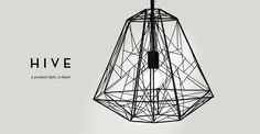 Hive Pendant Light, made
