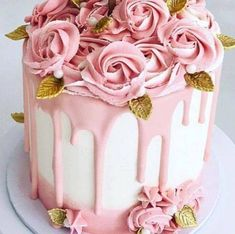 25 Amazing, Cool & Beautiful Birthday Cakes : Page 9 of 24 : Creative Vision Design - Trend Pretty Cakes 2019 Creative Birthday Cakes, Pink Birthday Cakes, Beautiful Birthday Cakes, Gorgeous Cakes, Creative Cakes, Amazing Cakes, Elegant Birthday Cakes, Buttercream Birthday Cake, Drip Cakes