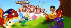 The Great Dragon Faire has arrived in DragonVale!  Join the festivities: http://deeplink.me/dragonvale.backflipstudios.com