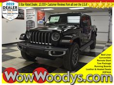 "New 2020 Gladiator! This 2020 Jeep Gladiator Overland Crew Cab Top options include Tow Package, Running Boards, Bed Liner, Convertible Hard Top, Leather Heated Front Seats, 8.4"" Touchscreen Media Center w/Navigation, Backup Camera, Remote Start, Alpine Sound System, Power Tailgate Lock, Hydraulic Assist Brake Booster & Cold Weather Group. #wow #wowwoodys #woodysautomotive #cars #trucks #suvs #carsforsale #trucksforsale #suvsforsale #kansascity #chillicothe #2020jeepgladiator #jeepgladiator #jeep"