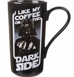i like my coffee on the dark side mug