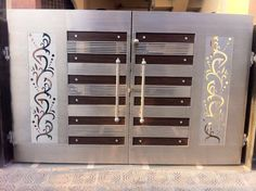 Main Gate Design, Steel Gate, Iron Gates, Grill Design, Ceiling Design, House  Design, Bespoke, Entryway, Ceilings