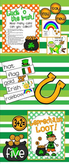 This fun St. Paddy's Day unit is a collection of 9 stations, plus several bonus…