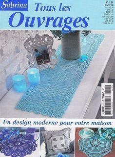 Sabrina 121 - Evlyn W - Picasa Albums Web Crochet Blocks, Crochet Chart, Thread Crochet, Crochet Patterns, Lace Doilies, Crochet Doilies, Crochet Lace, Knitting Magazine, Crochet Magazine
