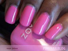 PinkNailBlog: Zoya: Jolene.
