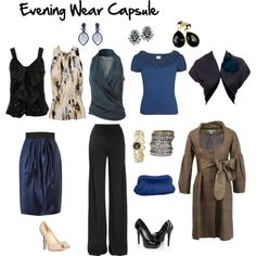 """""""Evening Wear Capsule"""" - by imogenl on Polyvore"""