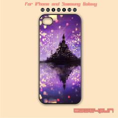 Purple Tangled Kingdom phone case
