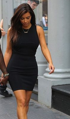 Kim Kardashian (I had to crop her shoes because they were too hideous)