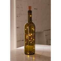 Bottle Battery Powered String Lights (28 ILS) ❤ liked on Polyvore featuring home, lighting, string lights, battery operated string lights, string of lights, string-light and battery powered string lights