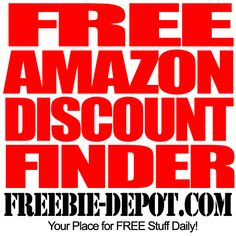 FREE Amazon Discount Finder - Up to 90% OFF