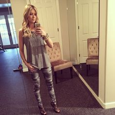 Christian El Moussa of HGTV's Flip or Flop; I love her and her style