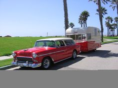 1963 SHASTA Trailer with matching car!