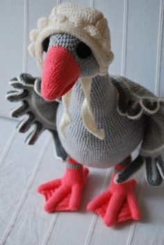 CROCHET TOY - GOOSE