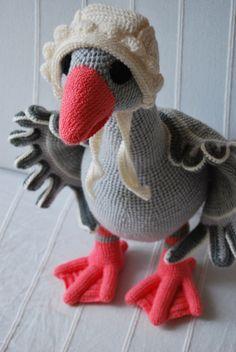 Goose amigurumi