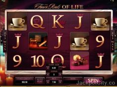 Have you ever played 'The Finer Reels of Life Slots'? You can now play it for free here. >> jackpotcity.co/r/6178.aspx