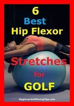 Golf Tips Swing Prevent golf injuries during the cold months by warming up with these 6 hip flexor stretches for golf! Learn how to improve golf swing rotation with these 6 golf stretching exercises. Stay loose and play better golf while avoiding injury. Golf Exercises, Stretching Exercises, Men Workouts, Hip Stretches, Weight Workouts, Body Workouts, Golf Instruction, Golf Tips For Beginners, Golf Player